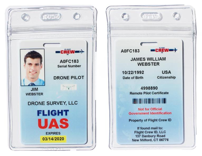 Drone Crew Application - Flight Crew ID